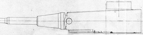 Second turret design for VK3001, elevation