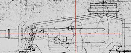 First turret design for VK3001, elevation